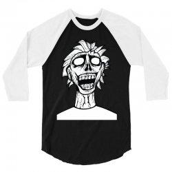 crazy zombie 3/4 Sleeve Shirt | Artistshot