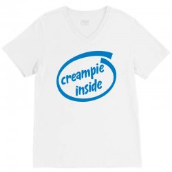 creampie inside V-Neck Tee | Artistshot