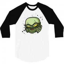 creature from the black lagoon 3/4 Sleeve Shirt   Artistshot