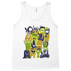 creatures from outer space Tank Top | Artistshot
