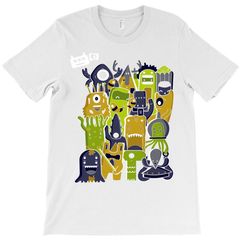 Creatures From Outer Space T-shirt | Artistshot