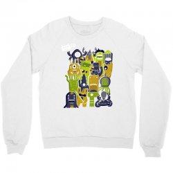 creatures from outer space Crewneck Sweatshirt | Artistshot