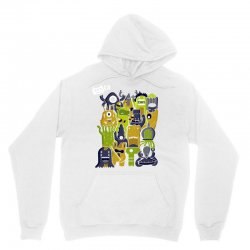 creatures from outer space Unisex Hoodie | Artistshot