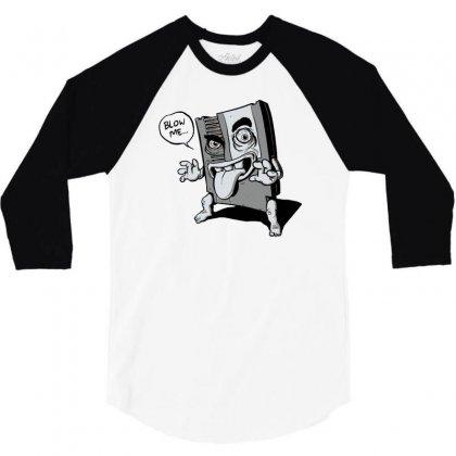Creep Cartridge 3/4 Sleeve Shirt Designed By Monstore