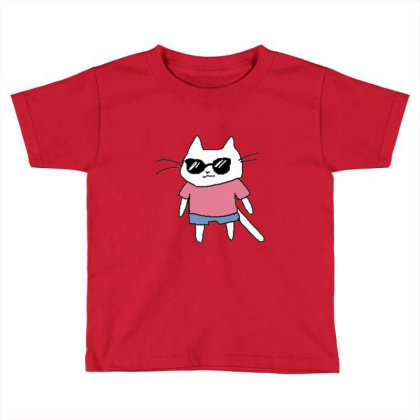 Cat Lovers Adn Cat Love Toddler T-shirt Designed By Jior