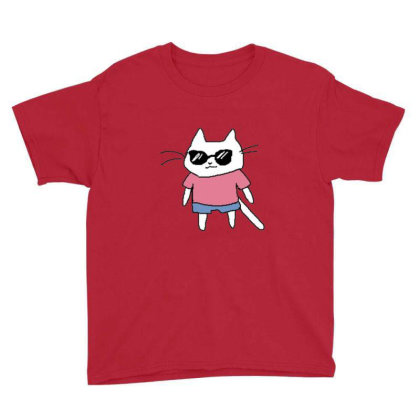 Cat Lovers Adn Cat Love Youth Tee Designed By Jior