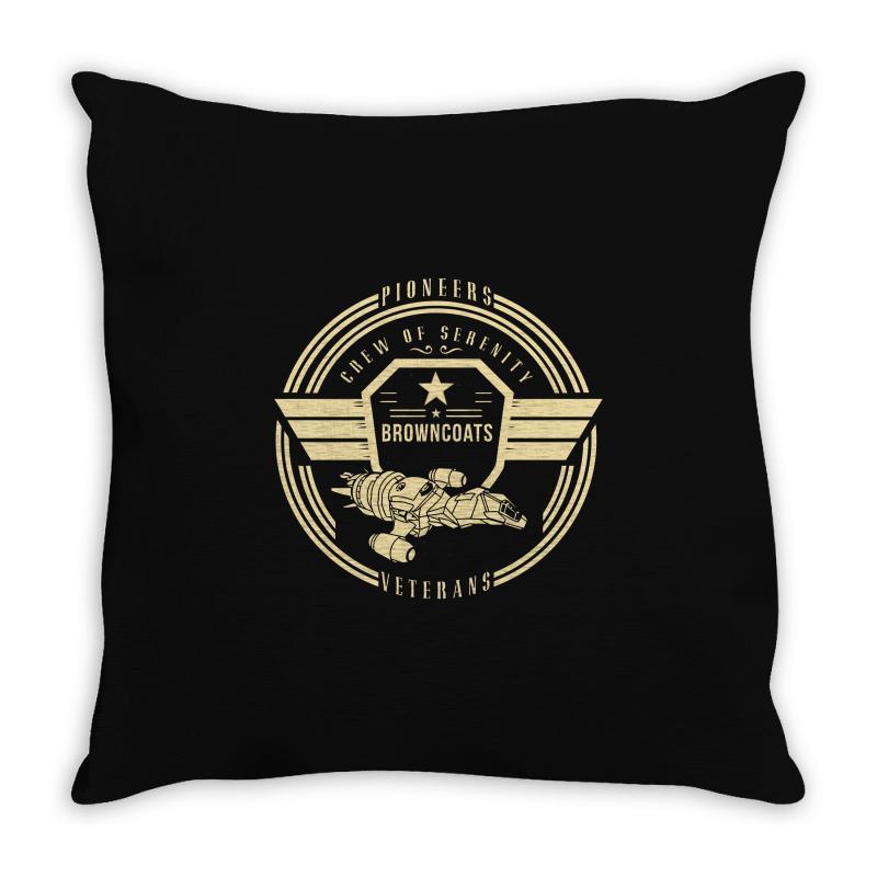 Crew Of Serenity Firefly Throw Pillow | Artistshot