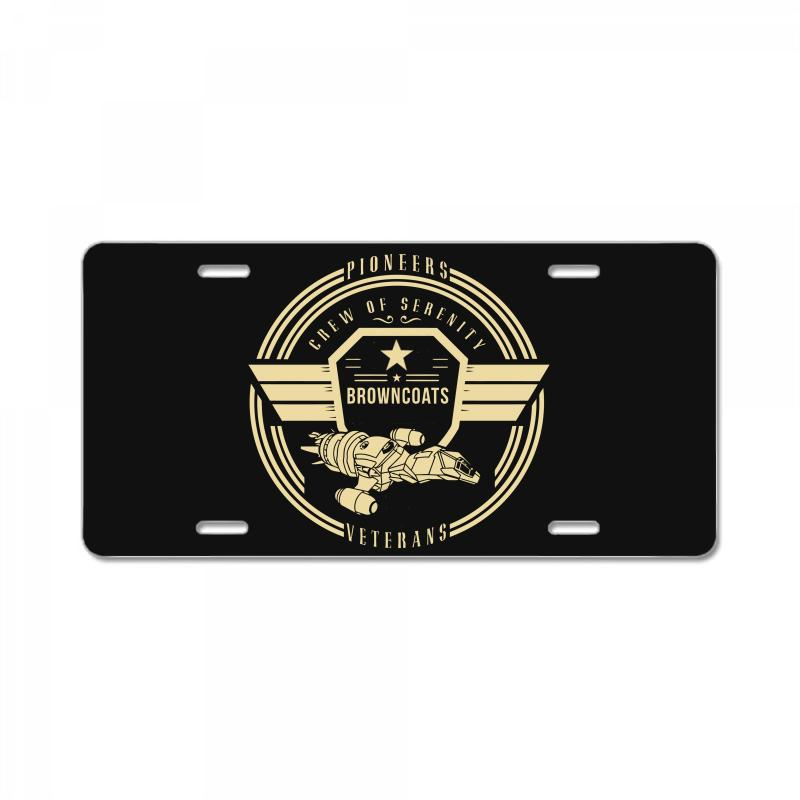Crew Of Serenity Firefly License Plate | Artistshot