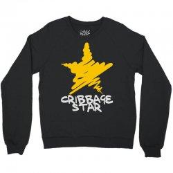 cribbage star Crewneck Sweatshirt   Artistshot