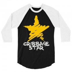 cribbage star 3/4 Sleeve Shirt   Artistshot
