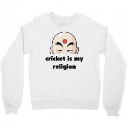 cricket is my religion Crewneck Sweatshirt | Artistshot