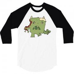 critter 3/4 Sleeve Shirt | Artistshot