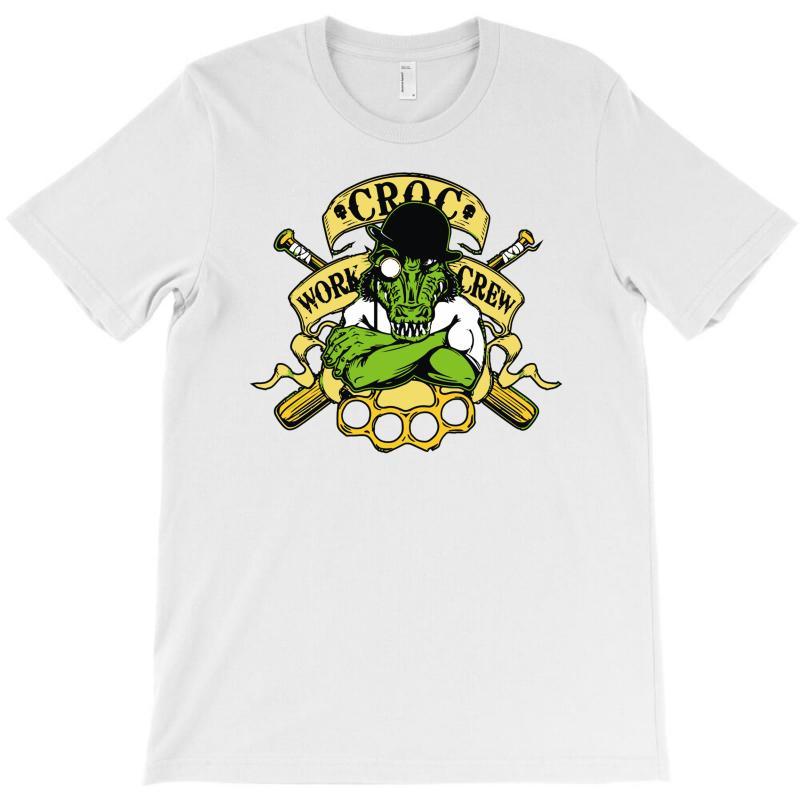 Croc Work Crew T-shirt | Artistshot