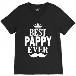 Best Pappy Ever V-Neck Tee | Artistshot