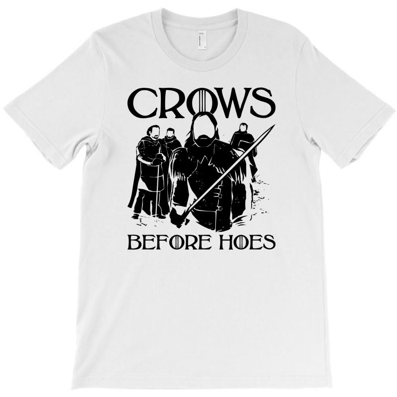 Crows Before Hoes T-shirt | Artistshot