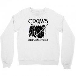 crows before hoes Crewneck Sweatshirt | Artistshot