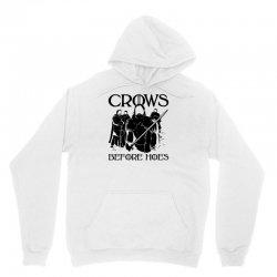 crows before hoes Unisex Hoodie | Artistshot