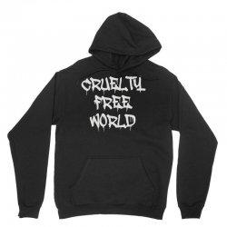 cruelty free world Unisex Hoodie   Artistshot