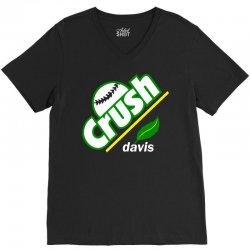 crush davis V-Neck Tee | Artistshot