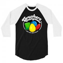 crushers anonymous 3/4 Sleeve Shirt | Artistshot