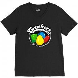 crushers anonymous V-Neck Tee | Artistshot