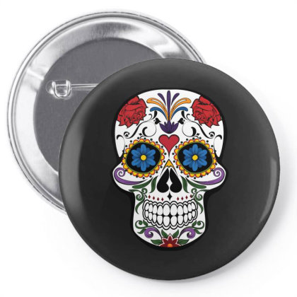 Skull Pin-back Button Designed By Alternativestore