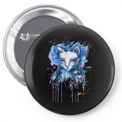 Cat Pin-back Button Designed By Alternativestore