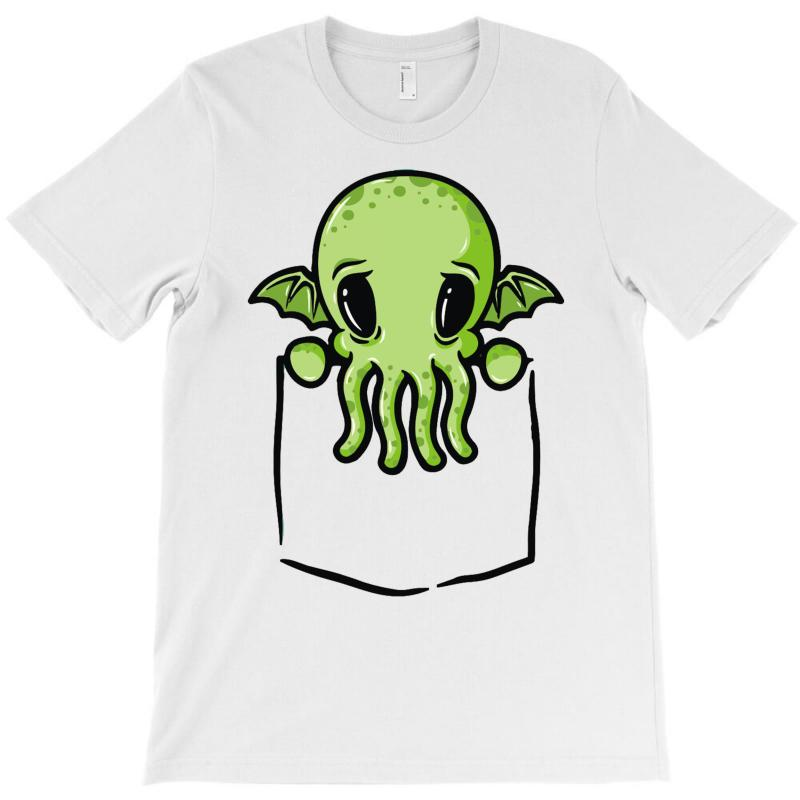 Cthulhu Dans Ta Poche T-shirt | Artistshot