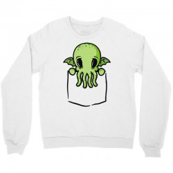 cthulhu dans ta poche Crewneck Sweatshirt | Artistshot