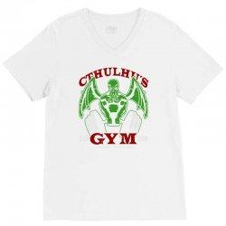 cthulhu gym V-Neck Tee | Artistshot