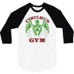 cthulhu gym 3/4 Sleeve Shirt | Artistshot