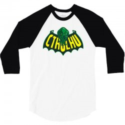 cthulhu man 3/4 Sleeve Shirt | Artistshot