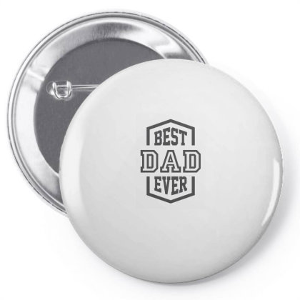 Best Dad Ever Pin-back Button Designed By Rafaellopez