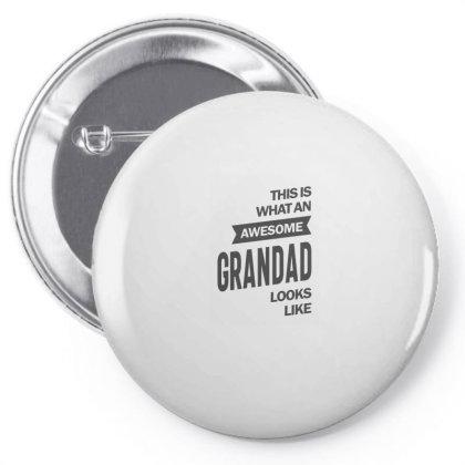 Awesome Grandad Pin-back Button Designed By Rafaellopez