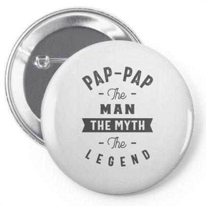 Pap-pap The Myth Pin-back Button Designed By Rafaellopez