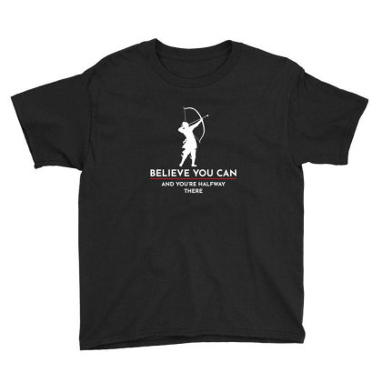 Archery Funny Sayings Bow Arrow Archer Gift Youth Tee Designed By Tasteful Tees