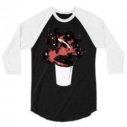 cup of something cosmic 3/4 Sleeve Shirt   Artistshot