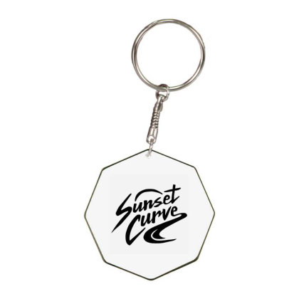 Julie And The Phantoms Sunset Curve Octagon Keychain Designed By Tshirtpublic