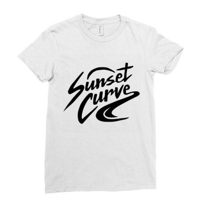 Julie And The Phantoms Sunset Curve Ladies Fitted T-shirt Designed By Tshirtpublic