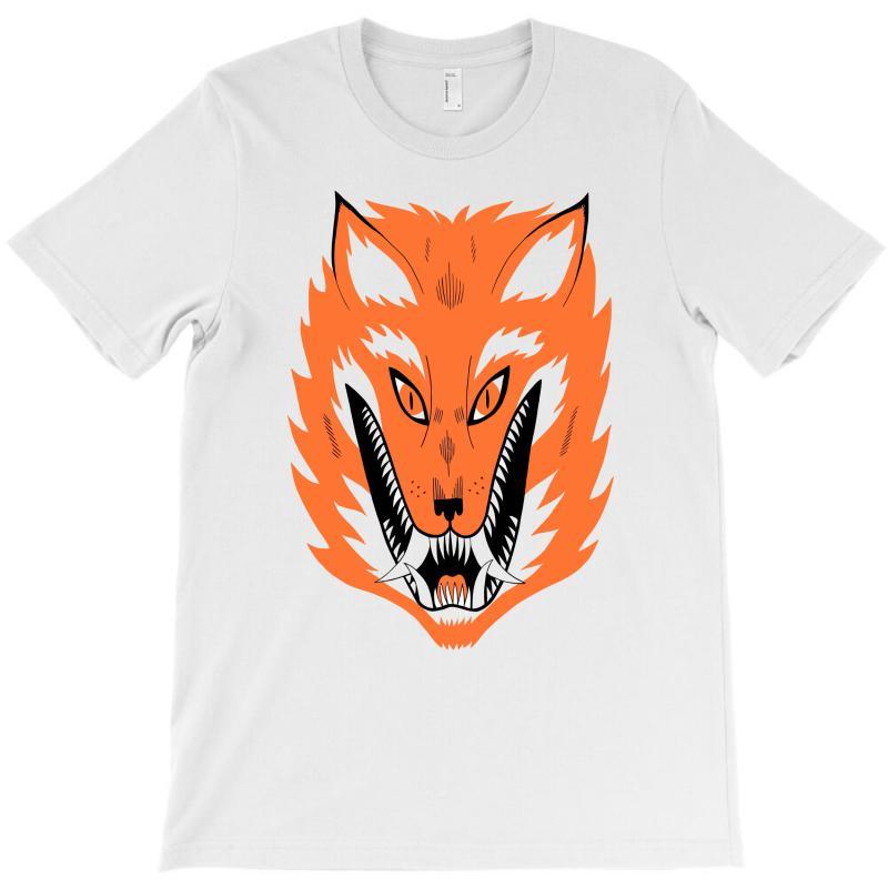 Cursed Fox T-shirt | Artistshot