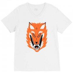 cursed fox V-Neck Tee | Artistshot