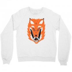 cursed fox Crewneck Sweatshirt | Artistshot