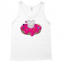 cute cat in a donut Tank Top | Artistshot