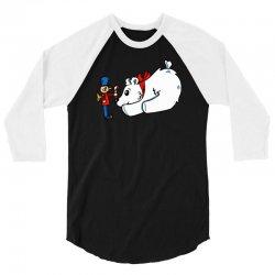 cute christmas 3/4 Sleeve Shirt   Artistshot