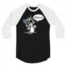 cute dead things kitty 3/4 Sleeve Shirt | Artistshot