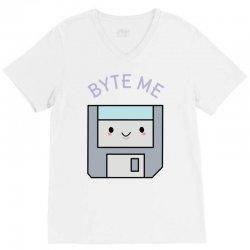 cute floppy disk V-Neck Tee | Artistshot