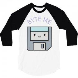 cute floppy disk 3/4 Sleeve Shirt | Artistshot