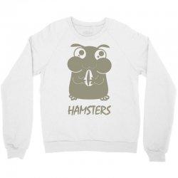 cute hamster Crewneck Sweatshirt   Artistshot