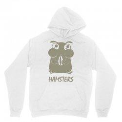 cute hamster Unisex Hoodie   Artistshot