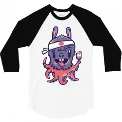 cute monster2 3/4 Sleeve Shirt | Artistshot